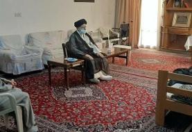(عکس) دیدار رییسی با رییس اسبق قوه قضاییه