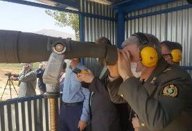 مانور عملیاتی تانکها وشلیک گلوله در ۴ حالت ثابت و متحرک