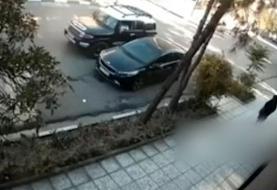 ویدئو: دختر ربایی و زیر گرفتن مامور پلیس در مشهد