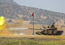 تصاویر | تانکهای جدید نیروهای مسلح را ببینید