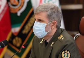 وزیر دفاع: امکان صادرات محصولات نظامی فراهم میشود
