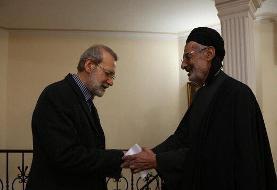 پیام تسلیت دکتر لاریجانی در پی درگذشت امام جمعه اهل سنت کرمانشاه