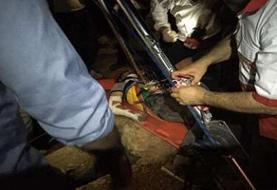 جوان اسلامآبادی از عمق چاه هفت متری نجات یافت
