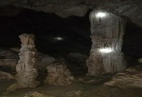 کشف یک غار شگفتانگیز و تاریخی در کوهدشت