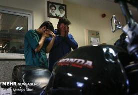 دستگیری سارق هوندا سوار/ اعتراف به ۱۵ فقره موبایل قاپی