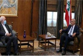 ظریف با رئیس پارلمان لبنان دیدار کرد