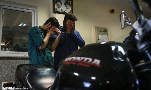 دستگیری موبایل قاپ محله شهدا