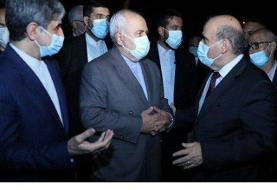 دیدار ظریف با وزیر خارجه لبنان