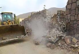 تخریب ۱۰۱ مورد ساخت و ساز غیرمجاز در بخش مرکزی کرج