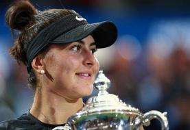 تنیس اپن آمریکا بدون مدافع عنوان قهرمانی ماند