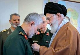 توئیتر فیلم سخنان رهبر انقلاب درباره سردار سلیمانی را حذف کرد
