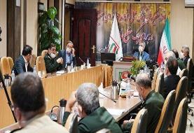 فرماندهان بهداشت نیروهای مسلح از قرارگاه پدافند زیستی بازدیدکردند