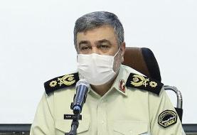 اشتری در مجلس: نیروی انتظامی با تمام توان برای استقرار امنیت در میدان است
