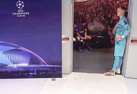 حسرت و ناراحتی مسی در رختکن بارسلونا پس از تحقیر مقابل بایرن/عکس