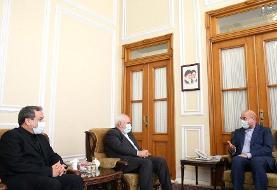 تصویر و جزئیات دیدار ظریف و قالیباف | ساختار وزارت خارجه تغییر میکند؟