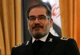 کنایه پهپادی شمخانی به شکستهای مستمر آمریکا در برابر ایران