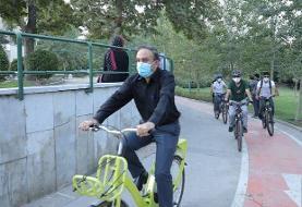 بهره برداریاز ۱۵۰ کیلومتر مسیر ویژه دوچرخه سواری