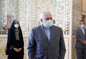 (تصاویر) دیدار مقام روس با ظریف بدون ماسک!