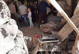 انفجار سیلندر گاز در تکاب یک خانواده را روانه بیمارستان کرد