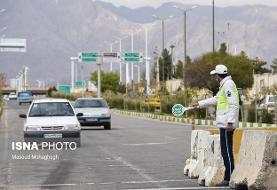 ترافیک سنگین در ورودی پایتخت/ بارش باران در گیلان
