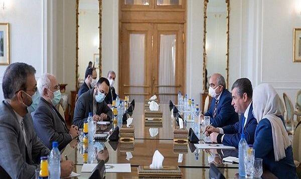 رئیس کمیته روابط خارجی دومای روسیه با «ظریف» دیدار کرد