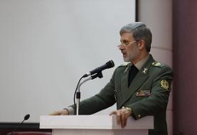 نظر وزیر دفاع درباره گفتوگوهای موشکی با آمریکا
