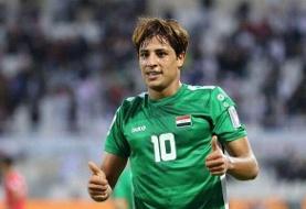 مهاجم تیم ملی فوتبال عراق به کرونا مبتلا شد
