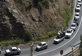 ترافیک سنگین در آزادراه تهران – کرج/ محور چالوس مسدود میشود