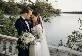 (تصاویر) ازدواج خانم نخست وزیر با نامزدش پس از ۱۶ سال زندگی