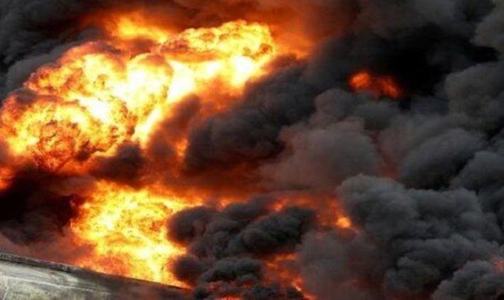 ادامه آتش سوزهای زنجیره ای یا عمدی در کشور: یک کشته و ۱۳ زخمی بر اثر انفجار مخزن یک کارخانه در چناران