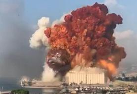 تصاویری بهتانگیز از انفجار مهیب بیروت | وقتی آب و آتش با هم بر میخیزند