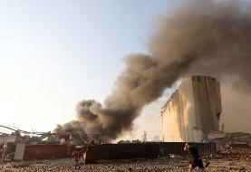 مسئول لبنانی: انفجار بیروت ناشی از یک محموله نیترات آمونیوم بوده است