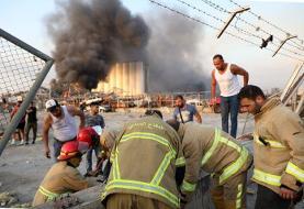 ویدئوی جدید و هولناک از نزدیکتربن نمای لحظه انفجار در بیروت