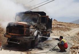 بادگیری کامیون دو نفر را به کشتن داد