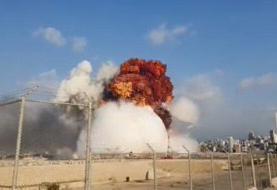 جزئیات انفجار مهیب در بندر بیروت | صدها نفر مجروح شدند