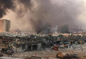 (ویدئو) لحظه انفجار مهیب بندر بیروت در لبنان