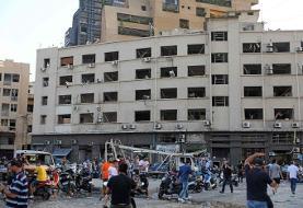 ویدئو | عروسی یک خانواده لبنانی در لحظه انفجار بیروت