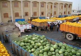 صادرات ۱۶۰ میلیون دلار محصول کشاورزی به خارج