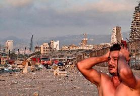 گزارش ویدئویی اسکای نیوز از خیابانهای بیروت بعد از انفجار