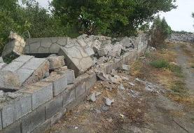 ویران کردن دیوارهای ۱۳۰ باغ بدون هشدار قبلی/ نماینده چناران: تخریبها، پیگرد قانونی دارد