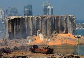 ببینید | تصویری با جزئیات دقیق از سوله منهدم شده در انفجار دیروز بیروت