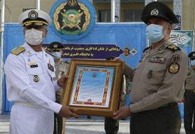 رونمایی از نشان فداکاری دانشگاه افسری ارتش +عکس