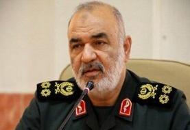 اولین واکنش مقامات نظامی ایران به انفجار بزرگ بیروت/ سردار سلامی چه پیامی داد؟
