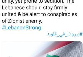 سخنگوی کمیسیون امنیت ملی مجلس: ایران مثل همیشه در کنار لبنان است