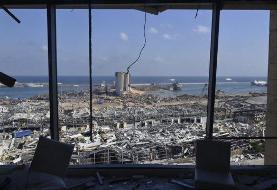 مکرون وارد بیروت شد