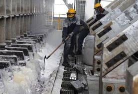 افزایش ۵۰ درصدی تولید آلومینیوم در کشور