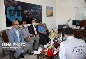 حضور سیدحسین زرگر در خبرگزاری ایسنا سمنان