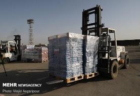 ۴۵ میلیون تن محموله کمک های بشردوستانه به لبنان ارسال شد