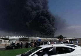 تصاویر | آتشسوزی این بار به عربستان رسید