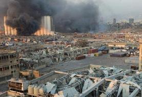 ویدئو | یک صحنه وحشتناک از موج انفجار بیروت